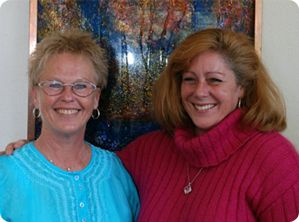 Carol Dunn and Colleen O'Conner